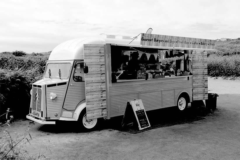 Gastro Bus Bantham Beach