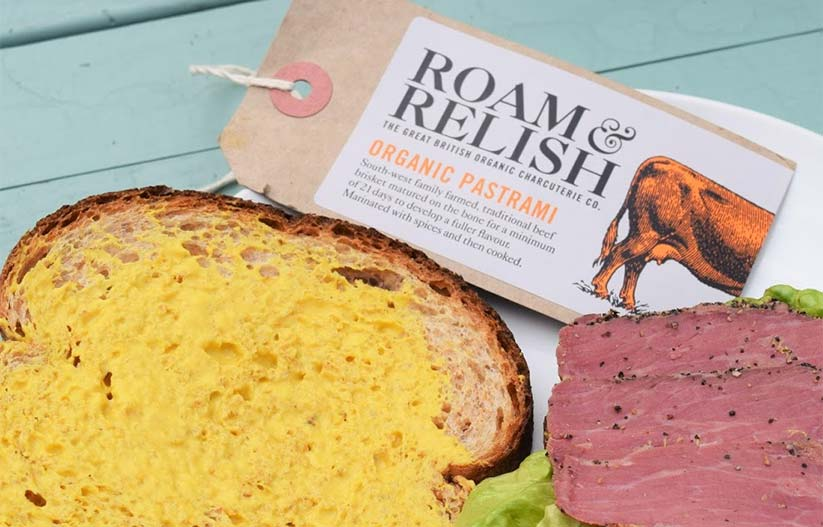 Roam Relish Oganic Pastrami